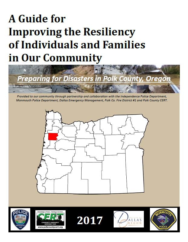 Polk County Emergency Preparedness Guide – Polk County, Oregon CERT