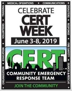 Polk County CERT observes CERT Week 2019