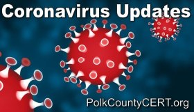 Coronavirus Advisory Updates by Polk County CERT, Polk County, Oregon.