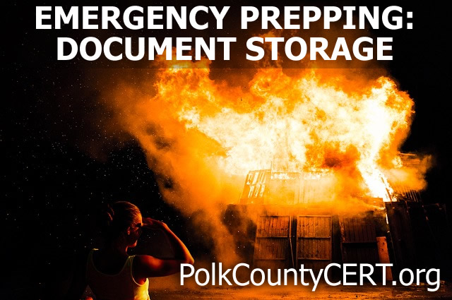 Emergency Prepping: Emergency Document Storage